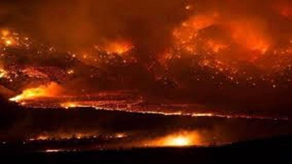 Mỹ, cháy rừng, California, lan nhanh, số người, thiệt mạng tăng