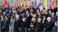 Các nhà lãnh đạo thế giới tham dự lễ kỷ niệm 100 năm ngày kết thúc Chiến tranh thế giới thứ nhất