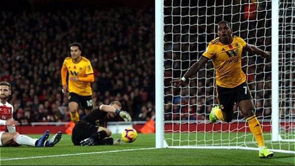 Arsenal, thoát thua, phút chót, Emirates, Wolverhampton , Ngoại hạng Anh