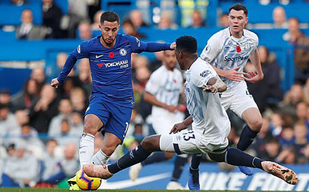 Chelsea, Everton, đứt mạch thắng, Stamford Bridge, Ngoại hạng Anh