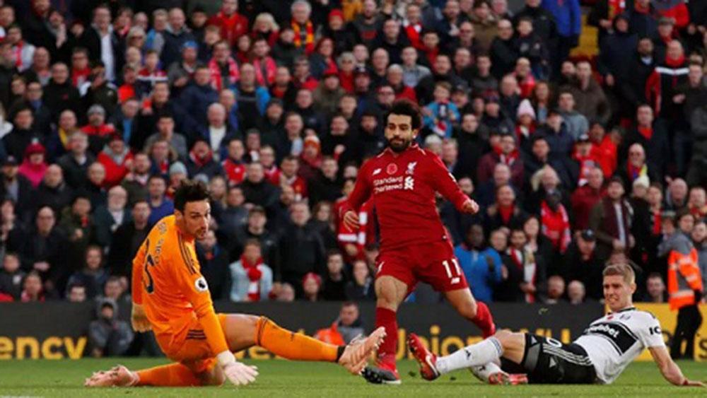 Salah, lập công đầu, chiến thắng, Liverpool, Fulham, Man City, Ngoại hạng Anh