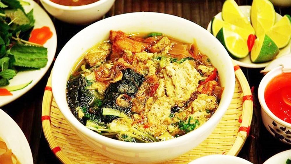 Crab soup – A pride of Hai Phong people