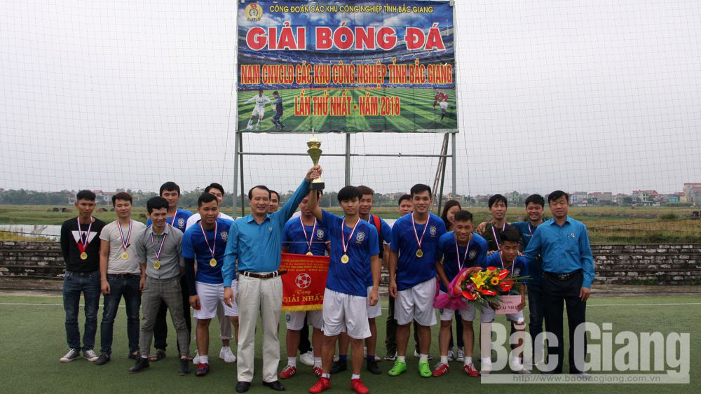 Vietnam Siflex crowns champions of Football Championship for Industrial Parks' labors