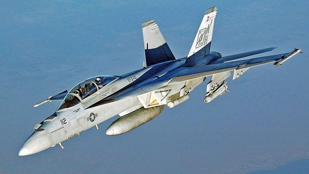 Máy bay chiến đấu F/A 18, Mỹ, rơi xuống biển, Phillipines