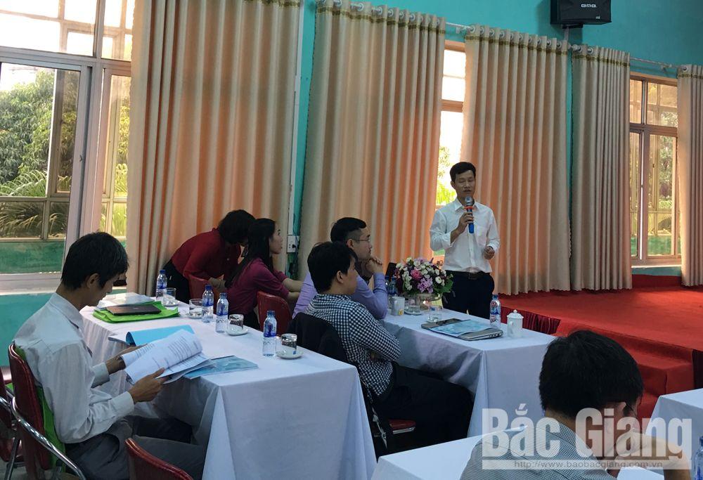 Đại biểu Viện Vi sinh vật và Công nghệ sinh học tham gia thảo luận.