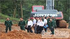 Phó Chủ tịch UBND tỉnh Dương Văn Thái: Khẩn trương khắc phục sự cố nứt núi Y Sơn