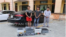Bắt 3 nghi phạm đột nhập công ty, trói bảo vệ, cướp tài sản