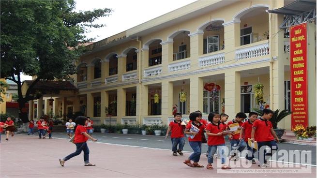 Việt Yên đầu tư đồng bộ xây dựng  trường chuẩn