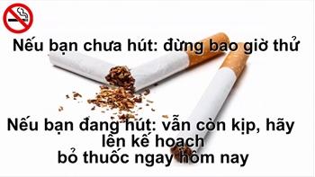 Loại bỏ 3 lý do khiến bạn khó cai thuốc lá