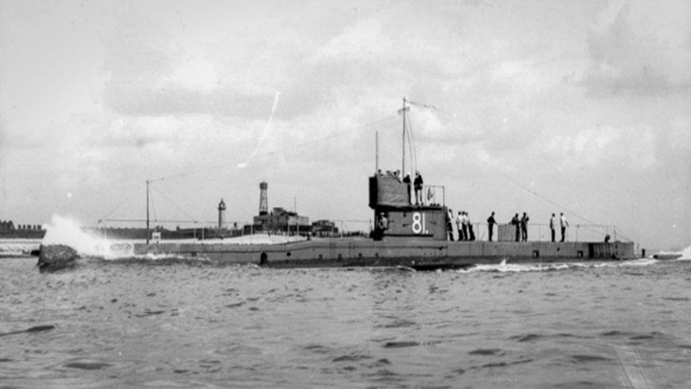 hạm đội tàu ngầm, Hải quân Nga, Thế chiến I, thảm họa, kề vai sát cánh, Hải quân Đức, biển Baltic