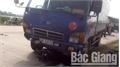 Bắc Giang: Ba phương tiện va chạm, hai người bị thương