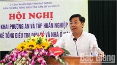 Ban chỉ đạo tỉnh triển khai Tổng điều tra dân số và nhà ở năm 2019