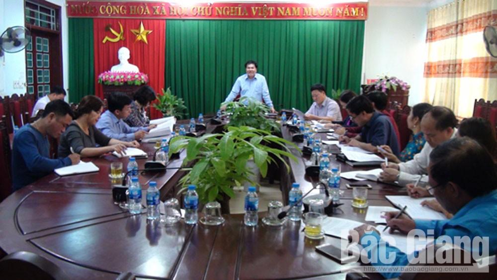 Kiểm tra công tác thi đua, khen thưởng tại huyện Yên Thế
