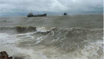 Cảnh báo về áp thấp nhiệt đới trên biển Đông