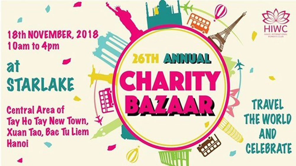 Foreign women to hold charity bazaar in Hanoi