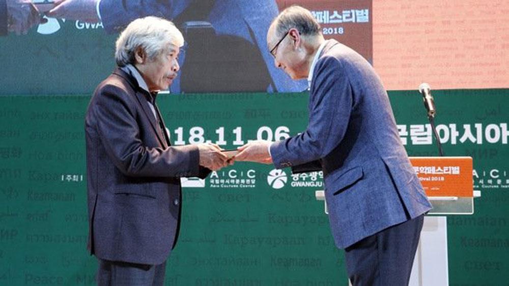 Vietnamese novel about war wins Asia Literature Award 2018