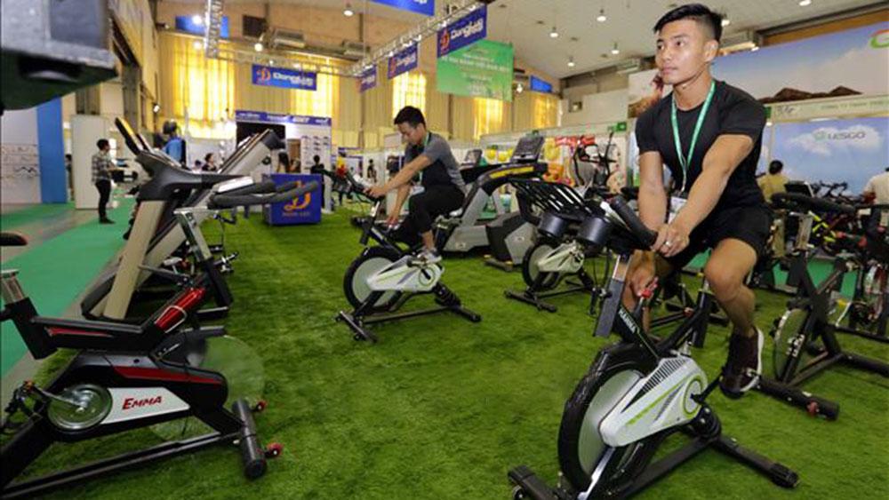 Khai mạc triển lãm thiết bị và sản phẩm thể thao Việt Nam 2018