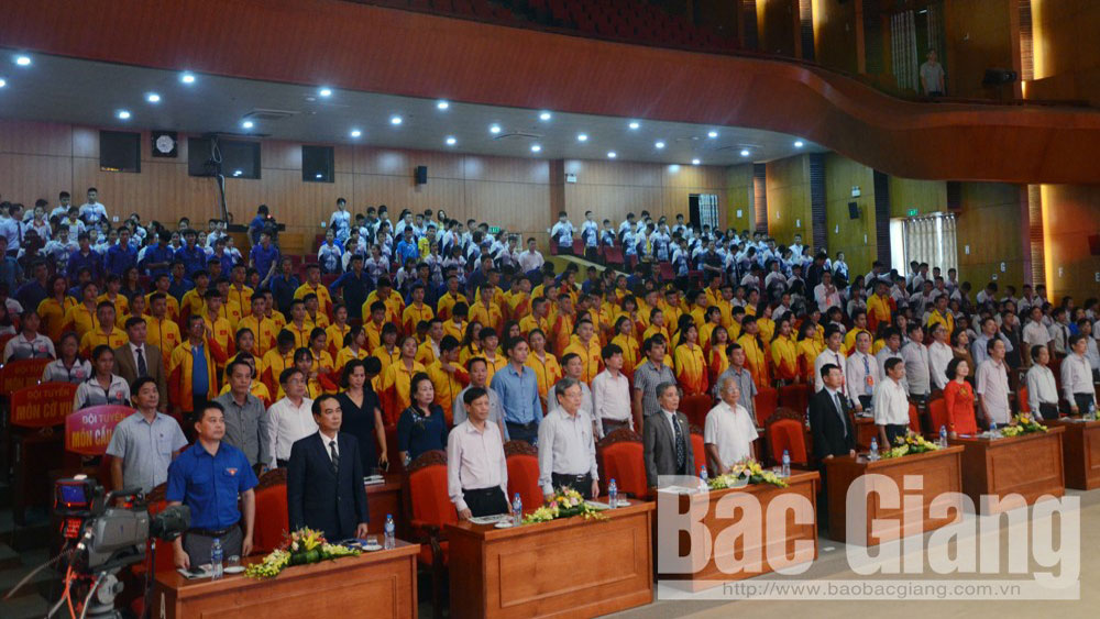 Bac Giang sporting delegation targets National Sports Festival's top 20