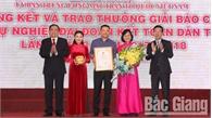 Trao Giải báo chí vì sự nghiệp đại đoàn kết toàn dân tộc: Báo Bắc Giang có 5 tác phẩm được trao giải