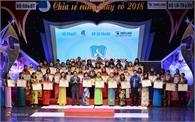 """Cô giáo Tô Thị Tuyết được tuyên dương trong chương trình """"Chia sẻ cùng thầy cô"""""""