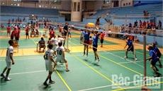 Giải bóng chuyền hơi trung cao tuổi toàn quốc năm 2018: Đội Nam Bắc Giang giành giải Nhất