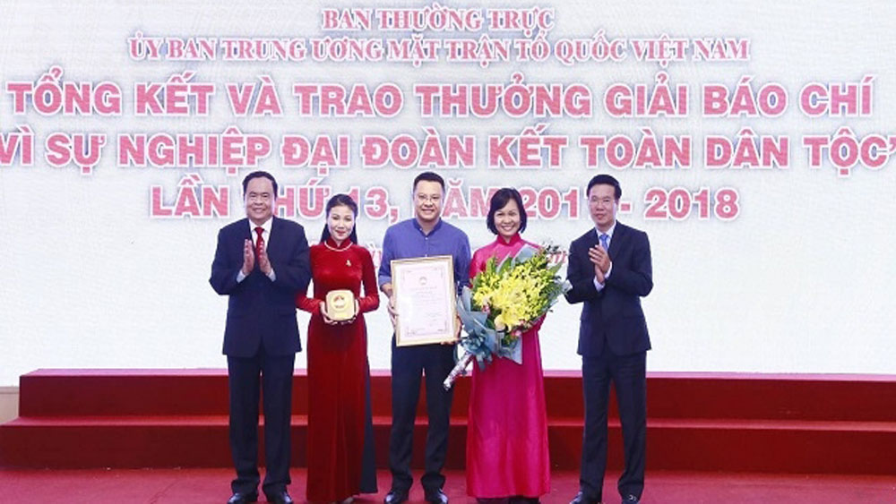 Seventy-six press works honoured with Great National Unity Award