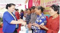 Chủ tịch Quốc hội Nguyễn Thị Kim Ngân dự Ngày hội Đại đoàn kết toàn dân tộc tại Thái Bình