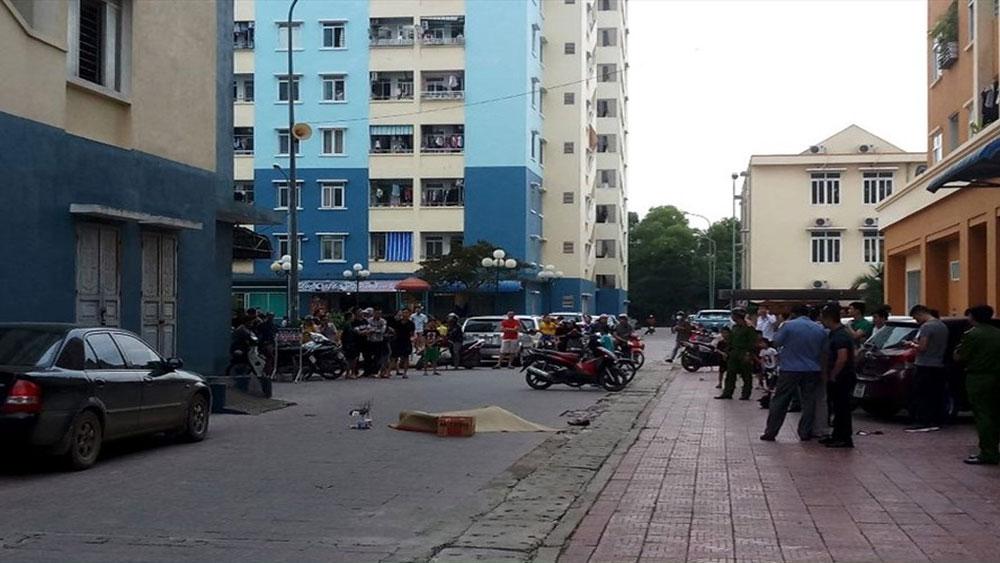 Một người đàn ông tử vong sau khi rơi từ tầng cao chung cư