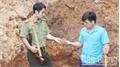 Tái diễn khai thác vàng trái phép trên núi Vạn Cung