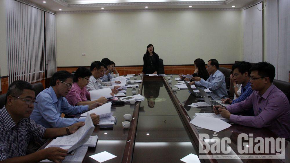 Thẩm tra một số tờ trình, dự thảo nghị quyết trình kỳ họp thứ 6, HĐND tỉnh