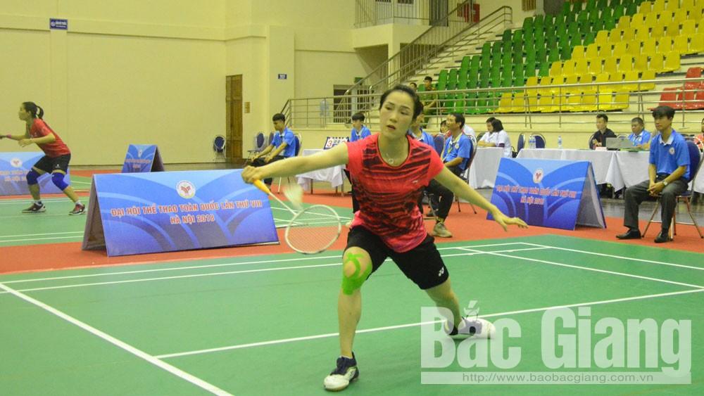 Bắc Giang gặp Thái Bình tại chung kết đồng đội cầu lông nữ Đại hội Thể thao toàn quốc