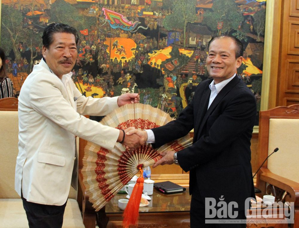 Japan-Vietnam, Friendship Association, Chukyo region, Bac Giang province, people-to-people diplomatic activities, specific activities,  cherry trees, cultural exchanges, solidarity and friendship