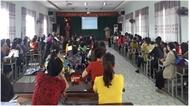 Tuyên truyền chính sách BHXH, BHYT cho hội viên phụ nữ