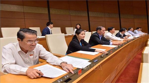 Nhiều Luật quan trọng đã được Quốc hội biểu quyết thông qua