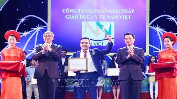 34 sản phẩm, dịch vụ công nghệ số tiêu biểu được nhận Giải thưởng Công nghệ số Việt Nam 2018
