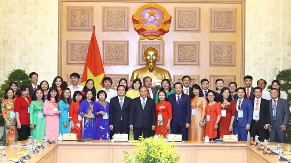 Prime Minister meets standout teachers