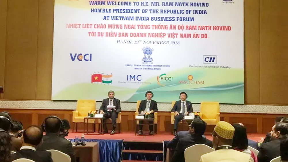 Vietnam, India aim for US$15 billion bilateral trade volume by 2020
