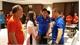 Vietnam Ambassador encourages Vietnamese team ahead of Myanmar clash