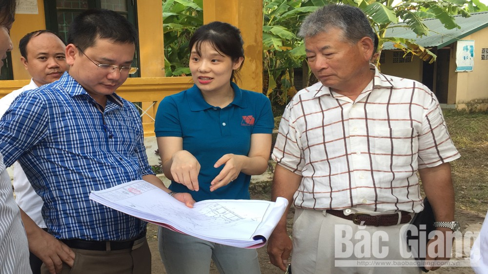 Công ty TNHH YoKoi Mould Việt Nam tài trợ gần 3 tỷ đồng xây dựng phòng học ở Yên Thế