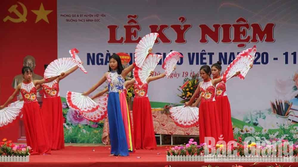 Sôi nổi các hoạt động kỷ niệm Ngày Nhà giáo Việt Nam 20-11