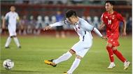 Đội tuyển Việt Nam-Myanmar (hiệp 1): Việt Nam có nhiều tình huống rõ nét hơn nhưng không tận dụng thành công