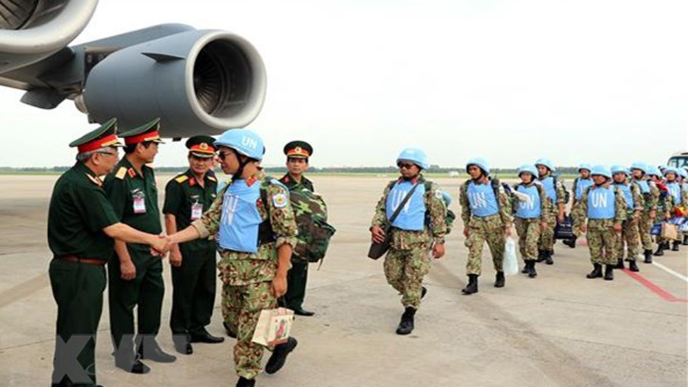 Two more officers assigned for peacekeeping mission in South Sudan