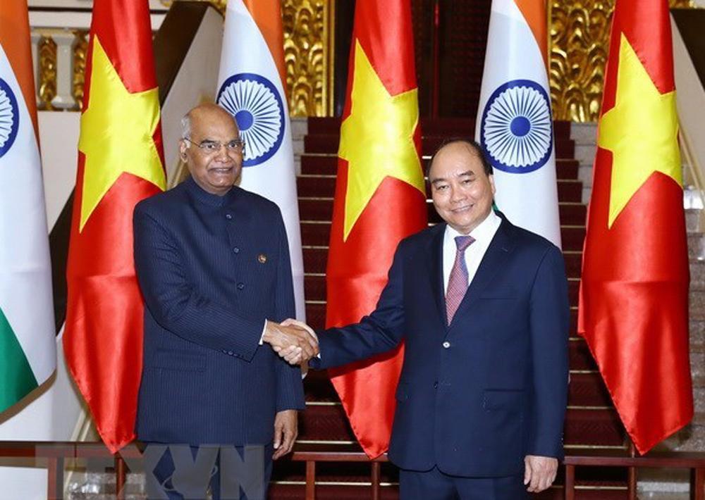 Vietnam, India, comprehensive strategic partnership, Prime Minister Nguyen Xuan Phuc, Indian President Ram Nath Kovind, people-to-people exchanges