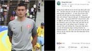 Tâm thư thủ môn Đặng Văn Lâm gửi HLV Miura 3 năm trước gây xúc động