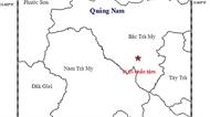 Động đất lại xảy ra tại huyện Bắc Trà My, Quảng Nam