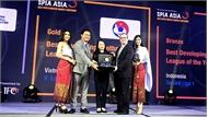V-League nhận giải thưởng cao quý của AFC