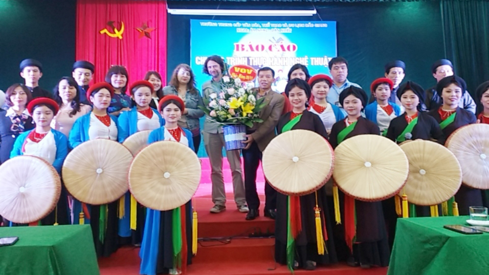 VOR's reporters discover Bac Giang's Quan Ho folk songs