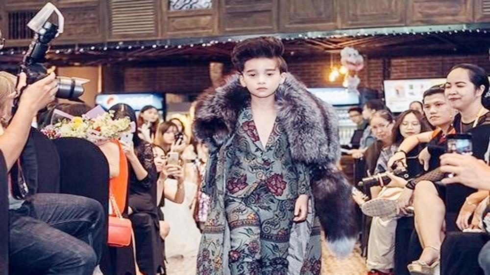 Vietnamese child models attend Malaysia Fashion Week
