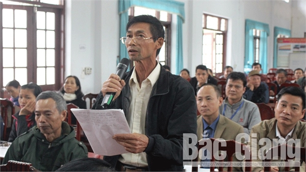 Đại biểu Quốc hội tiếp xúc cử tri tại Yên Thế: Người dân đề nghị giải quyết nhiều vấn đề dân sinh