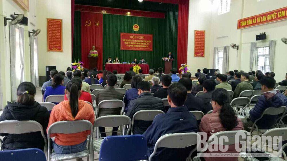 Tiếp xúc cử tri, Chủ tịch UBND tỉnh, Việt Yên